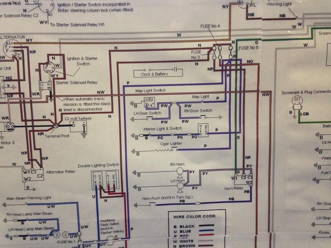 Xn 5452  1969 Jaguar Xke Wiring Diagram Get Free Image