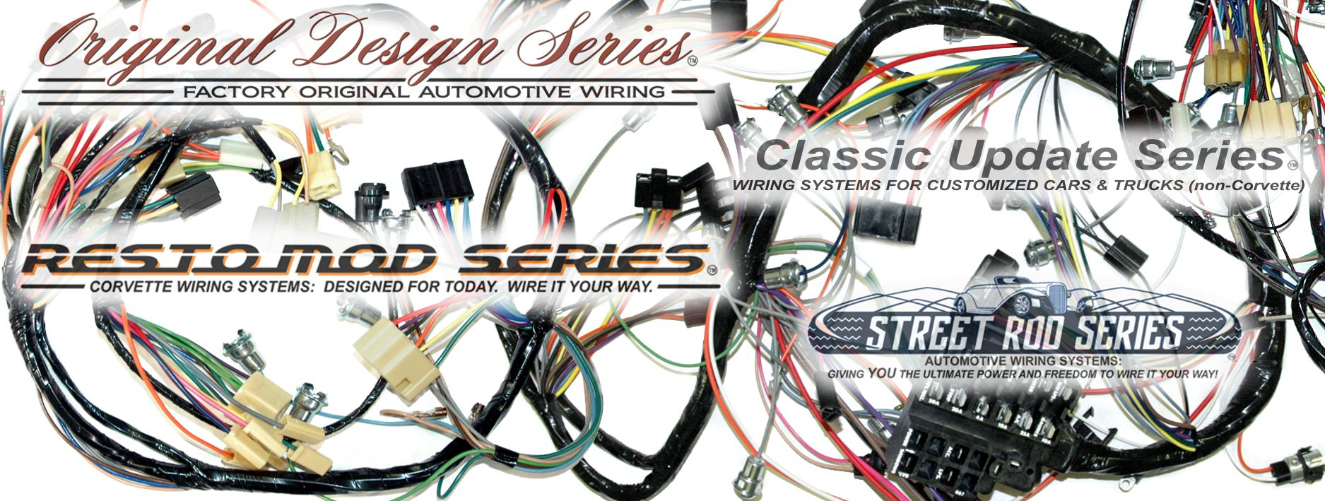 Stupendous Exact Oem Reproduction Wiring Harnesses And Restomod Wiring Systems Wiring Cloud Licukshollocom