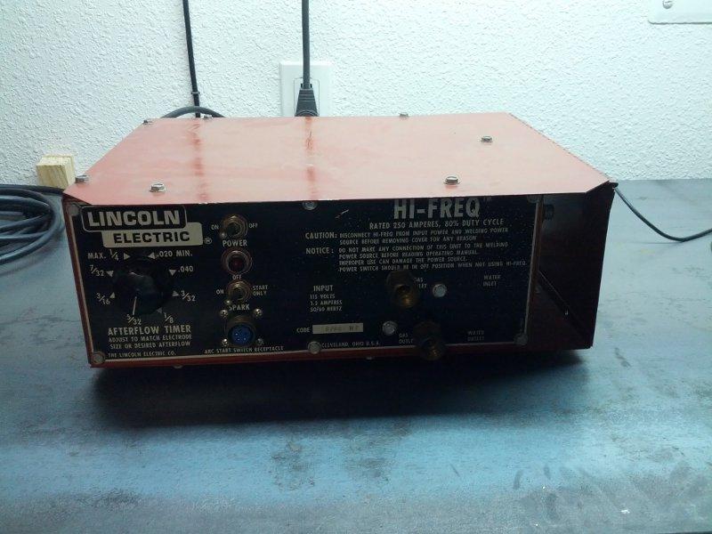 Strange Lincoln Electric Ac 225 Ac225 Ac Dc Stick Tig Welder Conversion Wiring Cloud Hemtshollocom