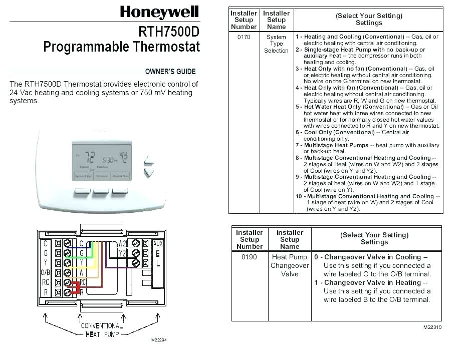 co 9574  honeywell rth111 thermostat wiring diagram