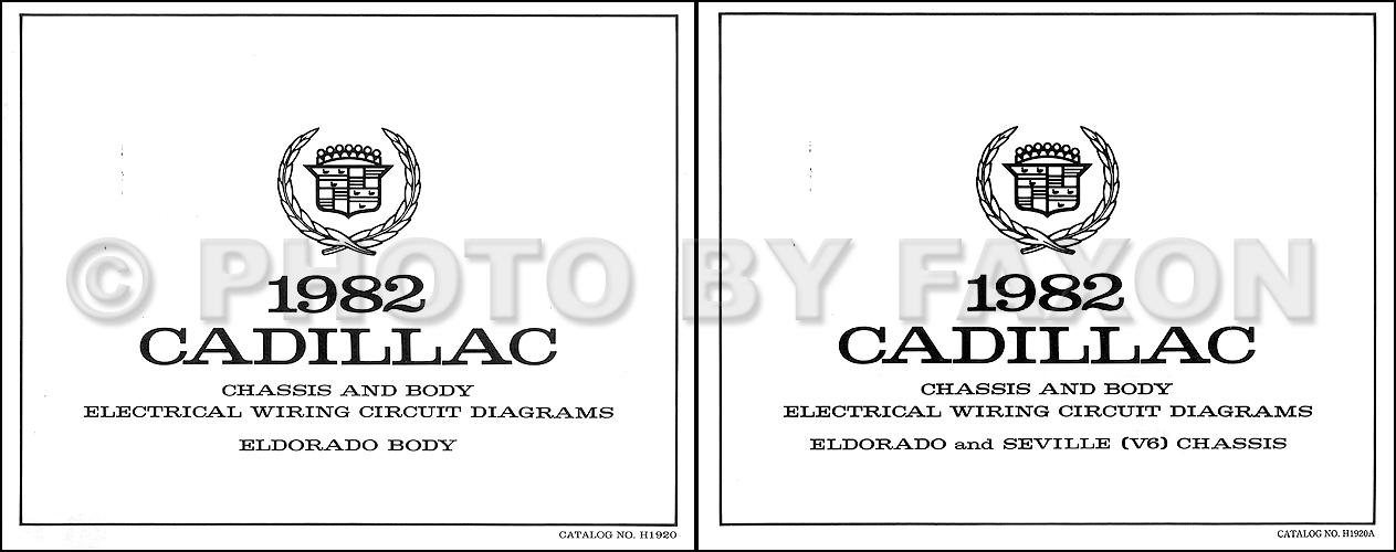 Outstanding 1982 Cadillac Eldorado V6 Foldout Wiring Diagrams Original Wiring Cloud Hemtegremohammedshrineorg