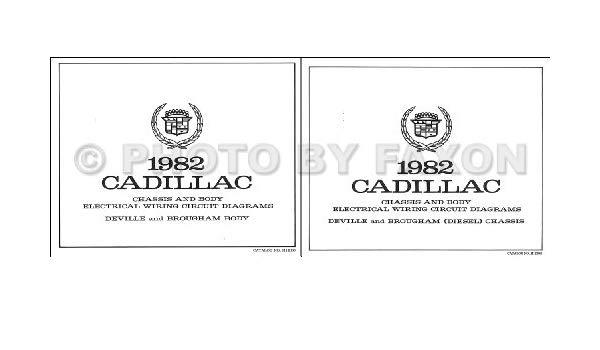 Peachy 1982 Cadillac Deville And Fleetwood Diesel Foldout Wiring Diagrams Wiring Cloud Hemtegremohammedshrineorg