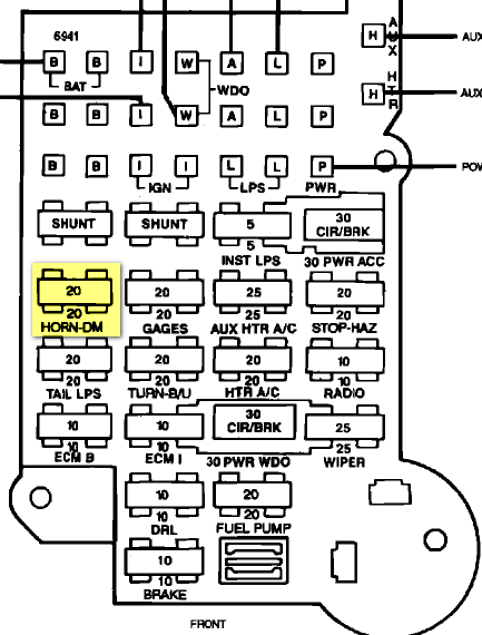 1995 Astro Van Fuse Box - Pioneer Deh Wiring Harness Diagram for Wiring  Diagram SchematicsWiring Diagram Schematics