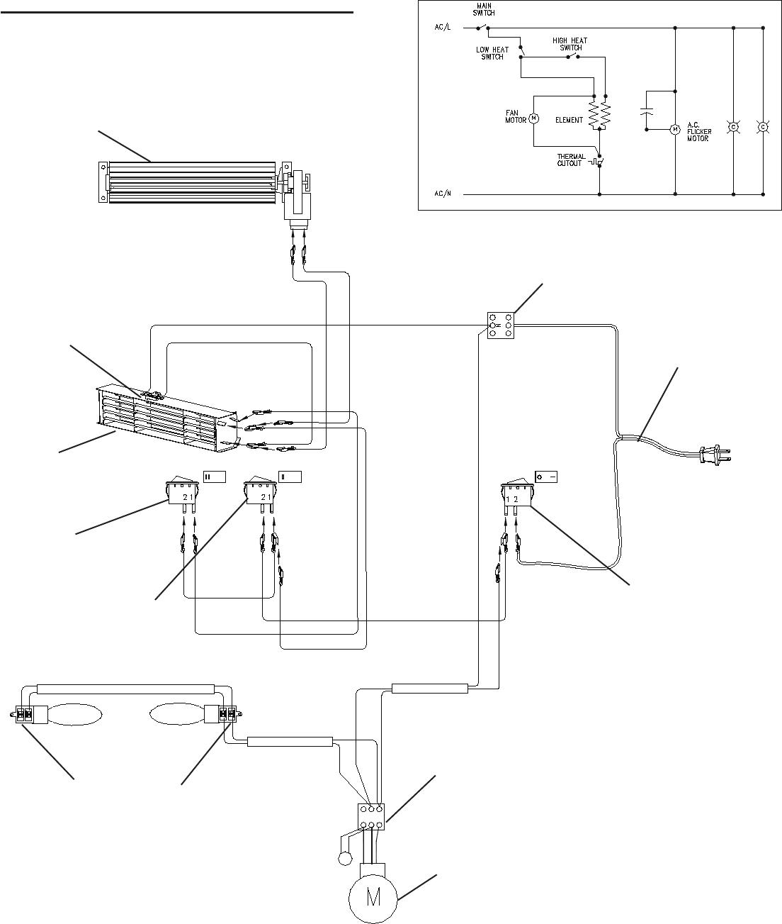 Dimplex Electric Baseboard Heater Wiring Diagram