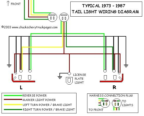 Ab 9710  1987 Chevy Truck Cargo Light Wiring Free Diagram