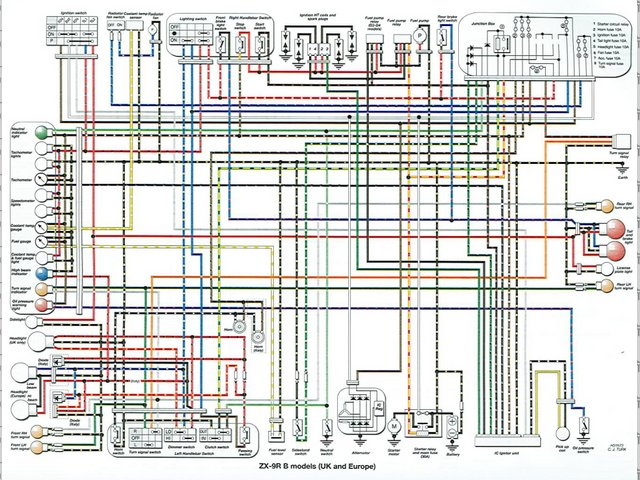 ZE_8381] Kawasaki Ninja 500 Wiring Diagram Wiring Diagram Free Diagram