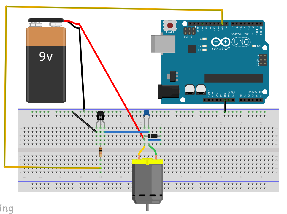 Pleasant Arduino Purpose Of The Diode And Capacitor In This Motor Circuit Wiring Cloud Licukaidewilluminateatxorg