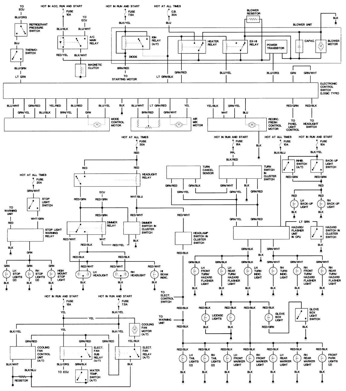 Rx7 Wiring Diagram -Phase Diagram Test Questions | Begeboy Wiring Diagram  Source | 1980 Mazda Rx 7 Wiring Schematics |  | Begeboy Wiring Diagram Source