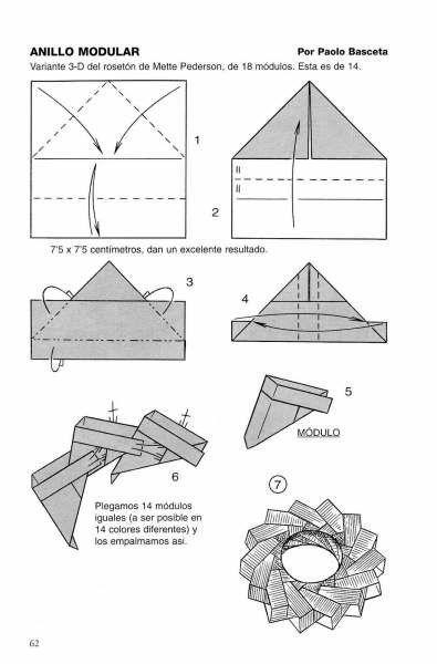 Modular Origami - balls and polyhedra folded by Michał Kosmulski | 600x395