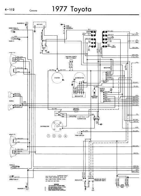 77 toyota pickup wiring diagram  loop wiring diagram dpdt