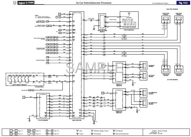 jaguar x type wiring diagram  active wiring diagram wave
