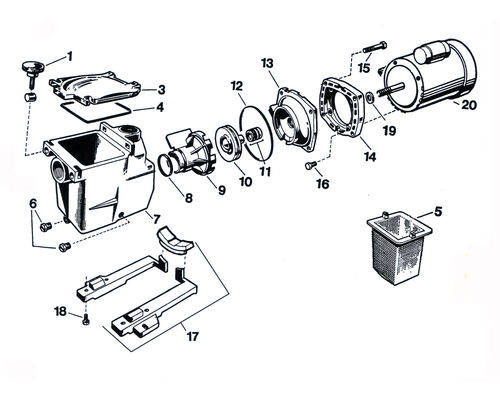 ne0256 motor parts diagram as well as hayward pool pump