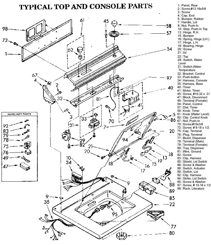 Kenmore 110 Washing Machine Wiring Diagram Ford V6 Engine Diagram Bege Wiring Diagram