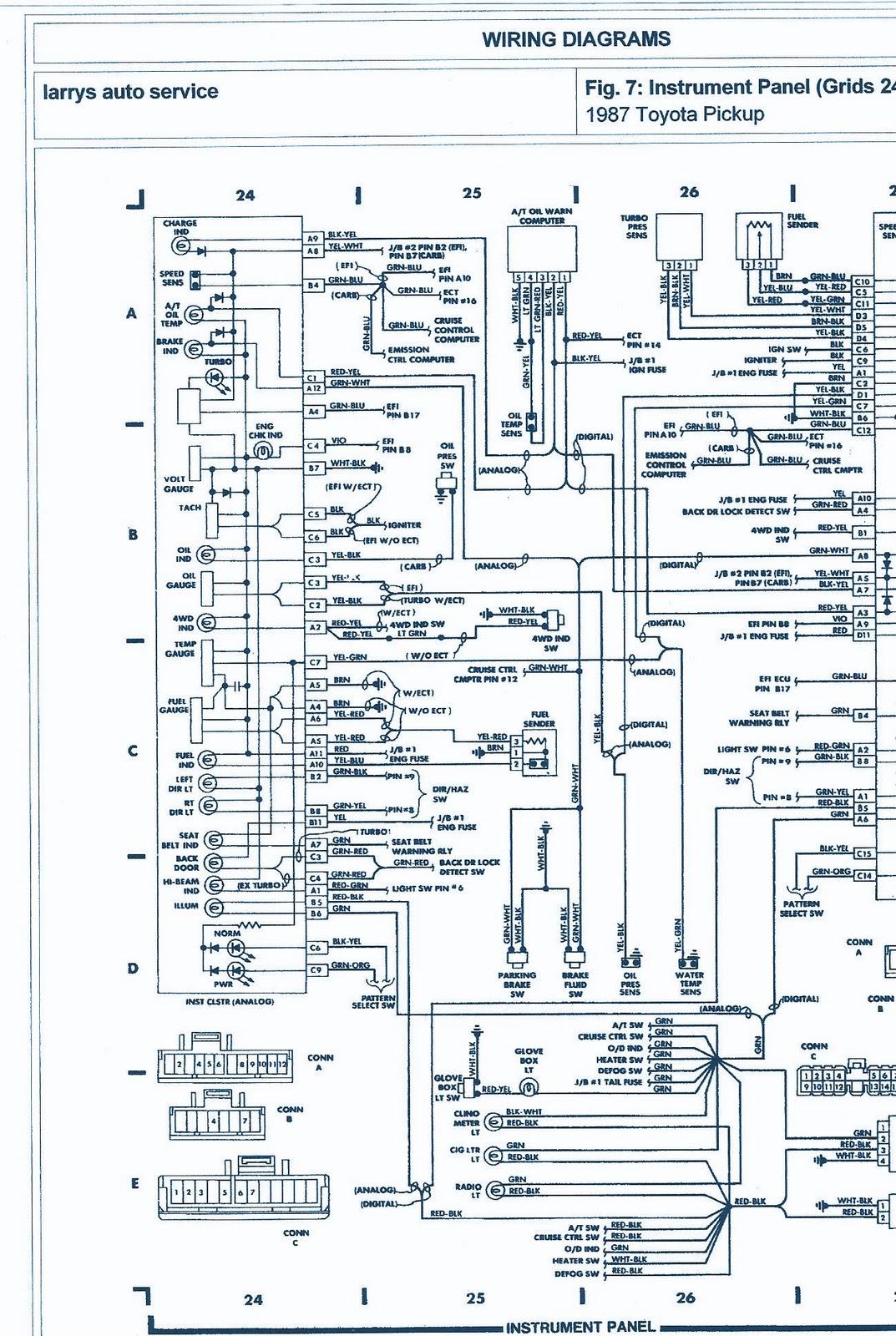 1988 Toyota Wiring Diagram Wiring Diagram Web A Web A Reteimpresesabina It