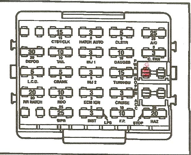 1989 Corvette Fuse Box Diagram - Mercedes Benz Wiring Diagram 1985 300sd  for Wiring Diagram Schematics
