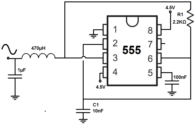 Groovy How To Build A Sine Wave Generator With A 555 Timer Chip Wiring Cloud Ittabisraaidewilluminateatxorg