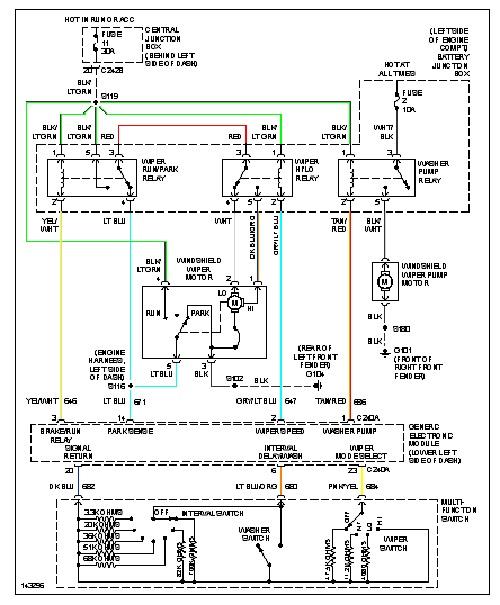 2002 ford f 250 engine wire diagram 2002 ford f350 wiper diagram wiring diagram data  2002 ford f350 wiper diagram wiring