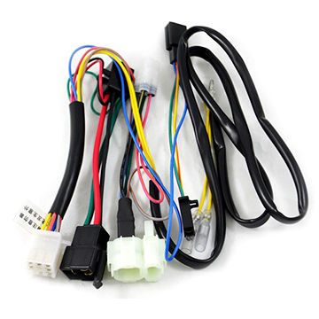 Astonishing China Motor Alarm System Wire Harness For Wuyang Honda Motorcycle Wiring Cloud Rdonaheevemohammedshrineorg