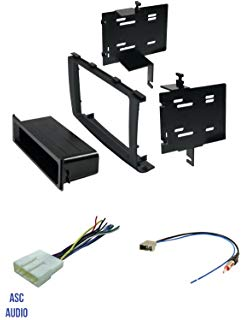 Phenomenal Amazon Com Fits Nissan Rogue 2008 2010 Single Din Stereo Harness Wiring Cloud Efflletkolfr09Org