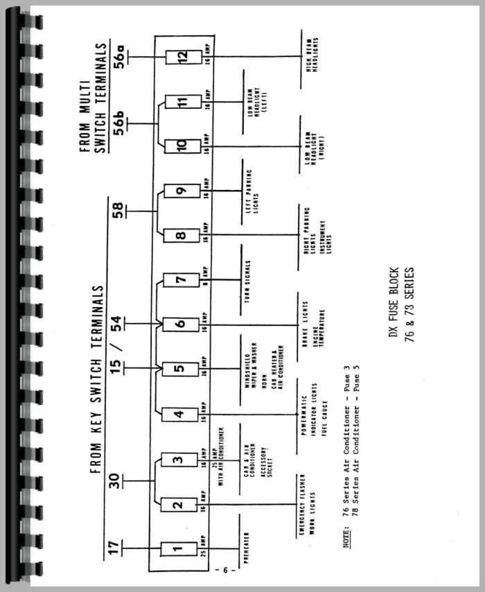 [DHAV_9290]  RD_1561] Deutz Allis D10006 Tractor Wiring Diagram Service Manual Htde Schematic  Wiring | Deutz Tractor Wiring Diagram Gas Gauge |  | Xortanet Salv Mohammedshrine Librar Wiring 101