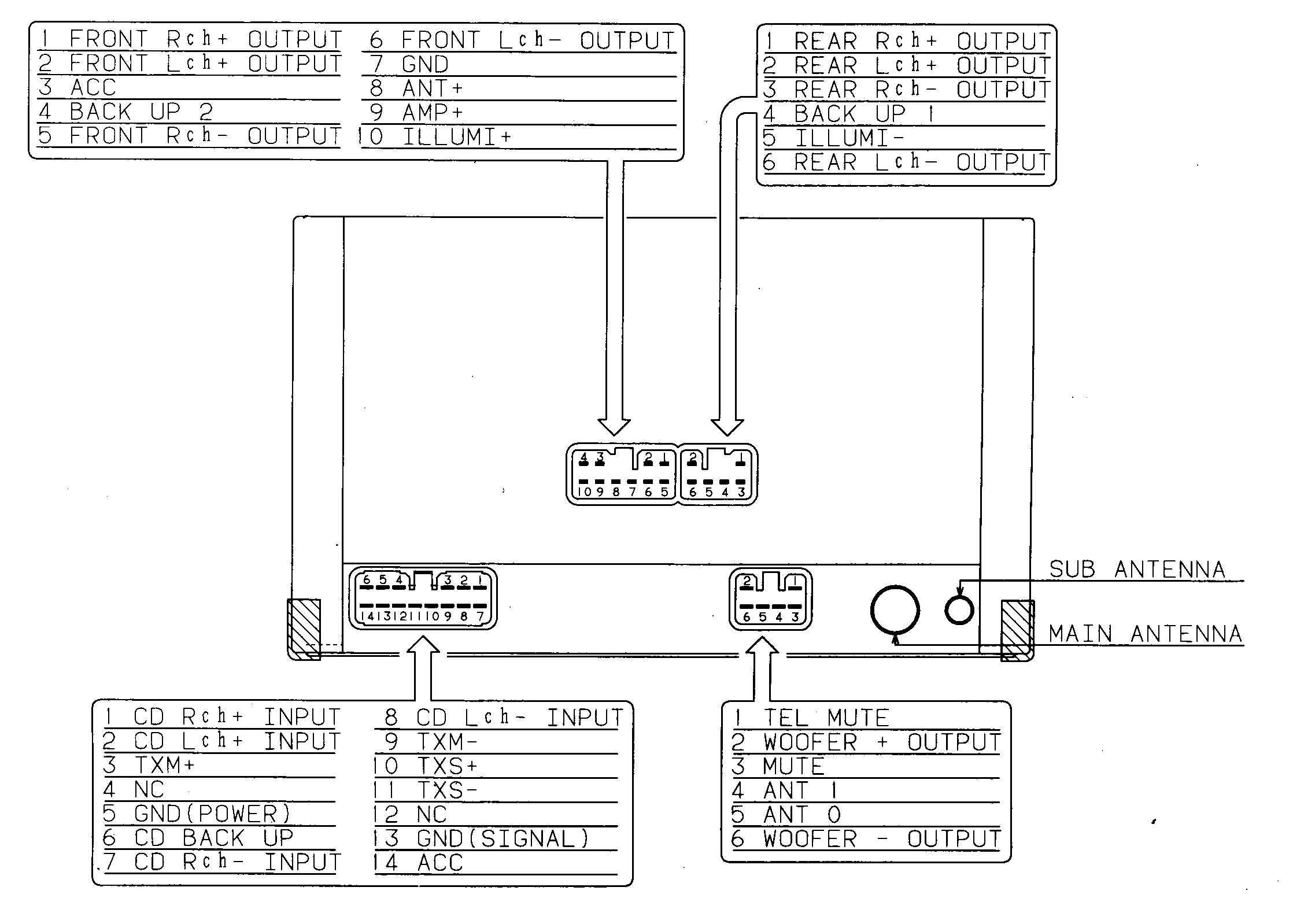 Superb Car Audio Wire Diagram Codes Lexus Factory Car Stereo Repair Wiring Cloud Licukaidewilluminateatxorg