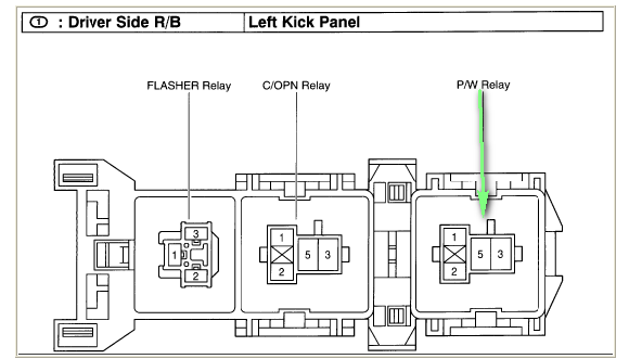 cr5709 power window wiring diagram on 96 ford f150 fuel