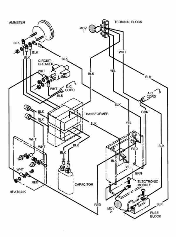 36 volt ezgo battery wiring diagram va 4943  36 volt battery wiring diagram on 95 ez go golf cart  36 volt battery wiring diagram on 95 ez