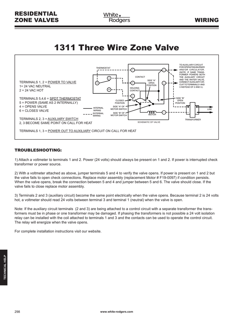 Xt 3269 Zone Heating System Diagram Also White Rodgers Zone Valve Wiring Free Diagram