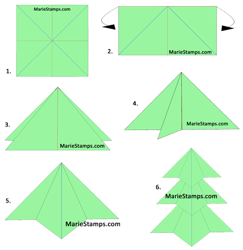 Christmas Origami Using Money | LoveToKnow | 494x480
