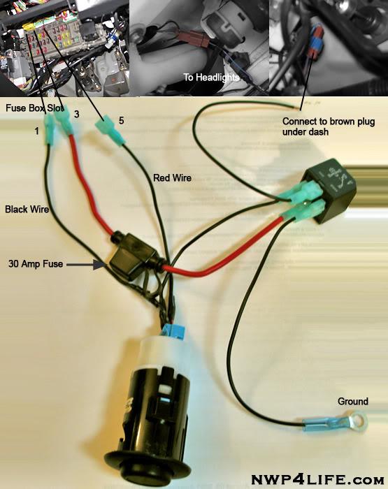 2006 Acura Rsx Headlight Wiring Diagram