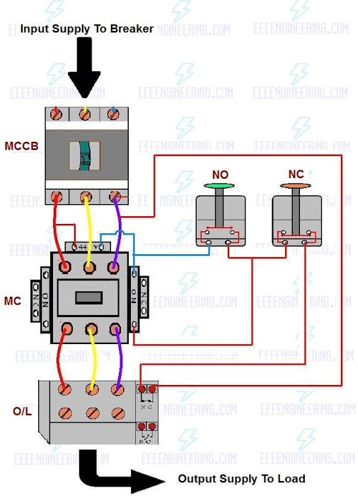 3 phase 220v schematic wiring diagram ok 3235  3 phase electric motor starter wiring diagram schematic  electric motor starter wiring diagram