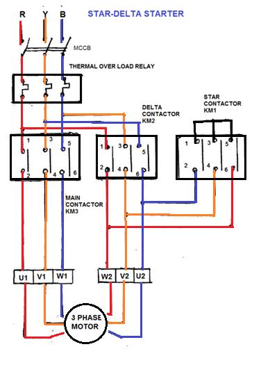 Magnificent Wiring Diagram Star Delta Starter Basic Electronics Wiring Diagram Wiring Cloud Orsalboapumohammedshrineorg