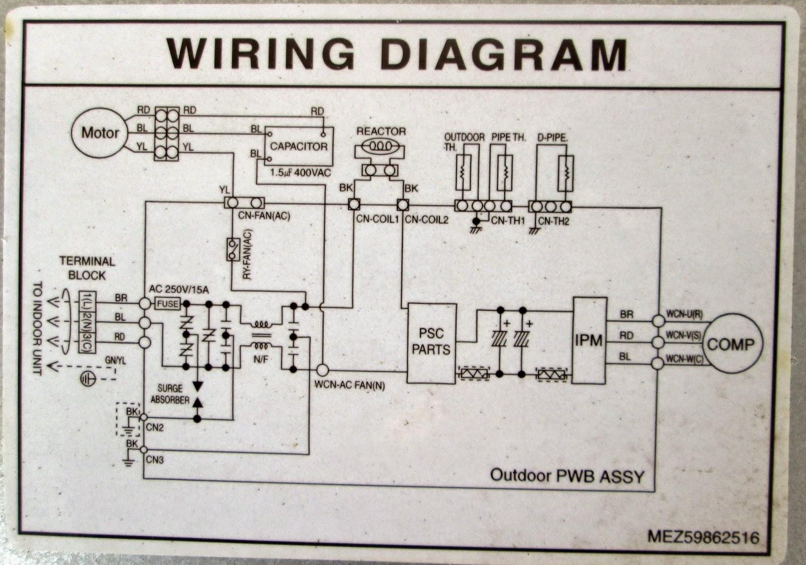 lg mini split wiring diagram xx 6858  lg mini split wiring diagram schematic wiring  lg mini split wiring diagram schematic