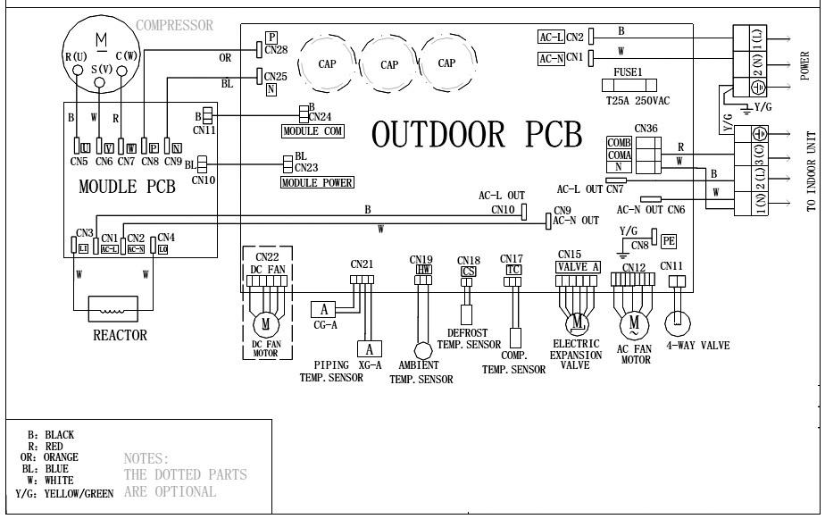 Peachy Wiring Diagram Ac Sharp Inverter Standard Electrical Wiring Diagram Wiring Cloud Rineaidewilluminateatxorg
