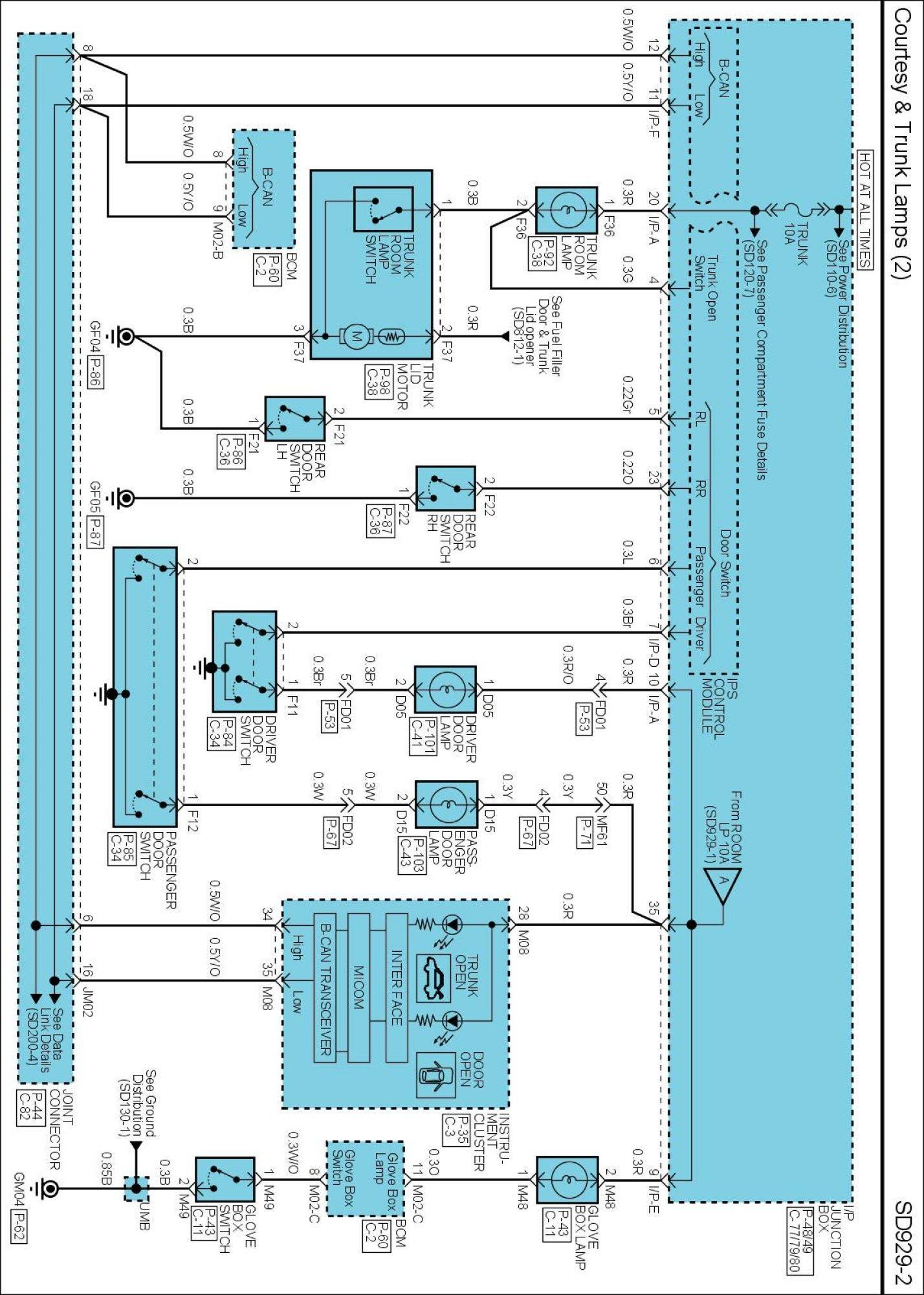 Hyundai Radio Wiring Harnes Diagram