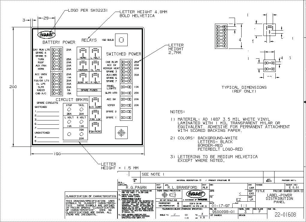 Wiring Diagram For Peterbilt 359