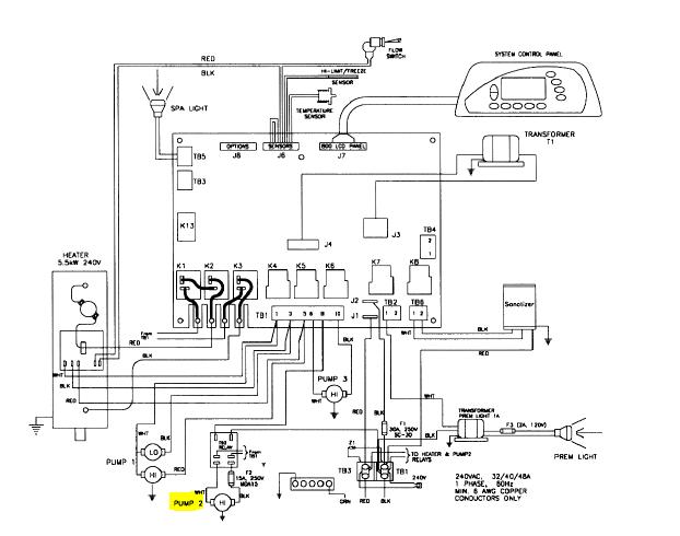 sundance hot tub wiring diagram  the location of fuel