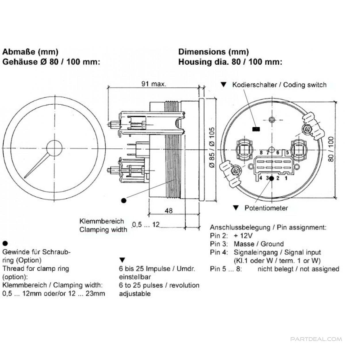 Vdo Diesel Tachometer Wiring 1959 Oldsmobile Wiring Diagram Yjm308 Losdol2 Cabik Jeanjaures37 Fr