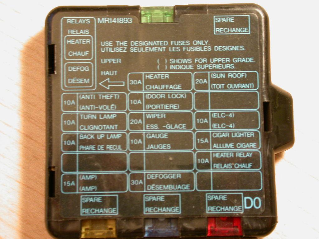 93 Mitsubishi 3000gt Wiring Diagram