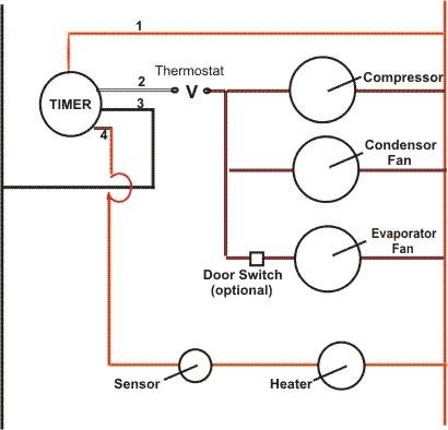 Ma 1320 Freezer Defrost Wiring Diagrams Hvac Schematic Wiring