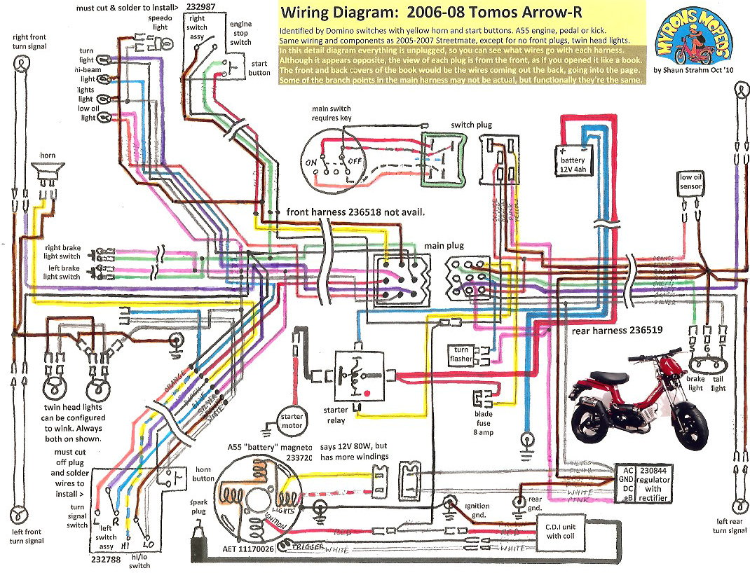Sensational 2005 Tomos Moped Wiring Diagram Wiring Diagram Data Wiring Cloud Ymoonsalvmohammedshrineorg