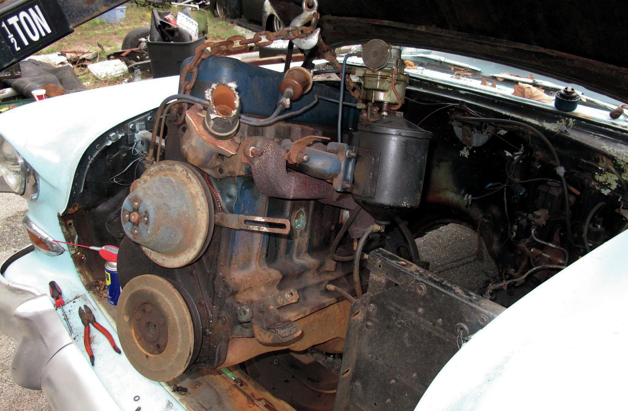 Wiring A 58 Chevy 235