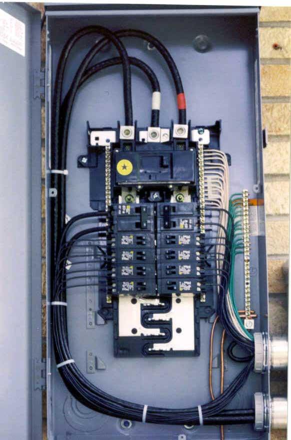 Stupendous Service Panels And Splice Boxes Aluminum Wire Repair Inc Wiring Cloud Domeilariaidewilluminateatxorg