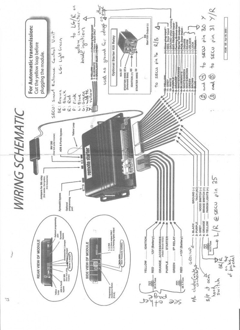 avital 4103 remote starter wiring diagram co 4176  avital 5303l remote start wiring diagram schematic wiring  co 4176  avital 5303l remote start