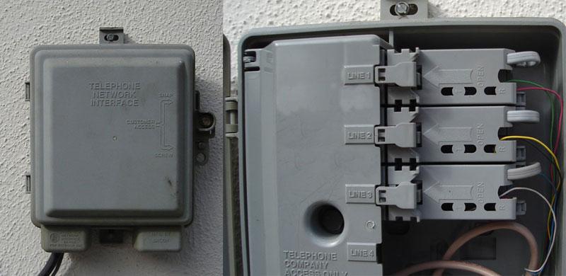 Phone Wiring Terminal Junction Block