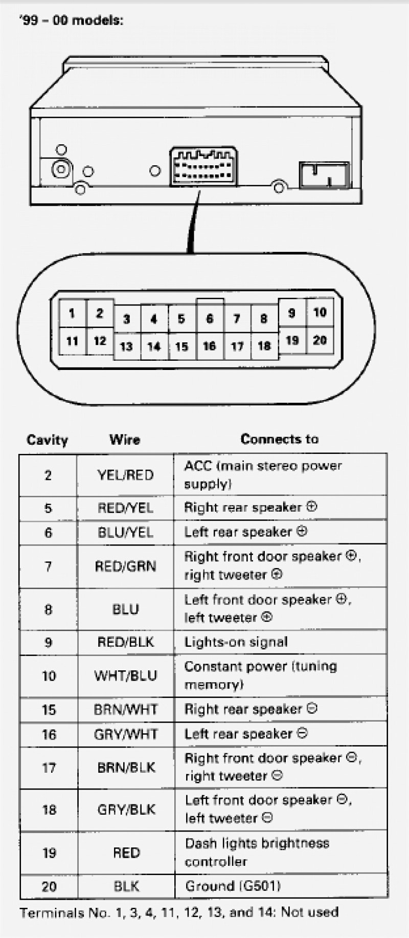 Jvc Kd R330 Car Stereo Wiring Diagram