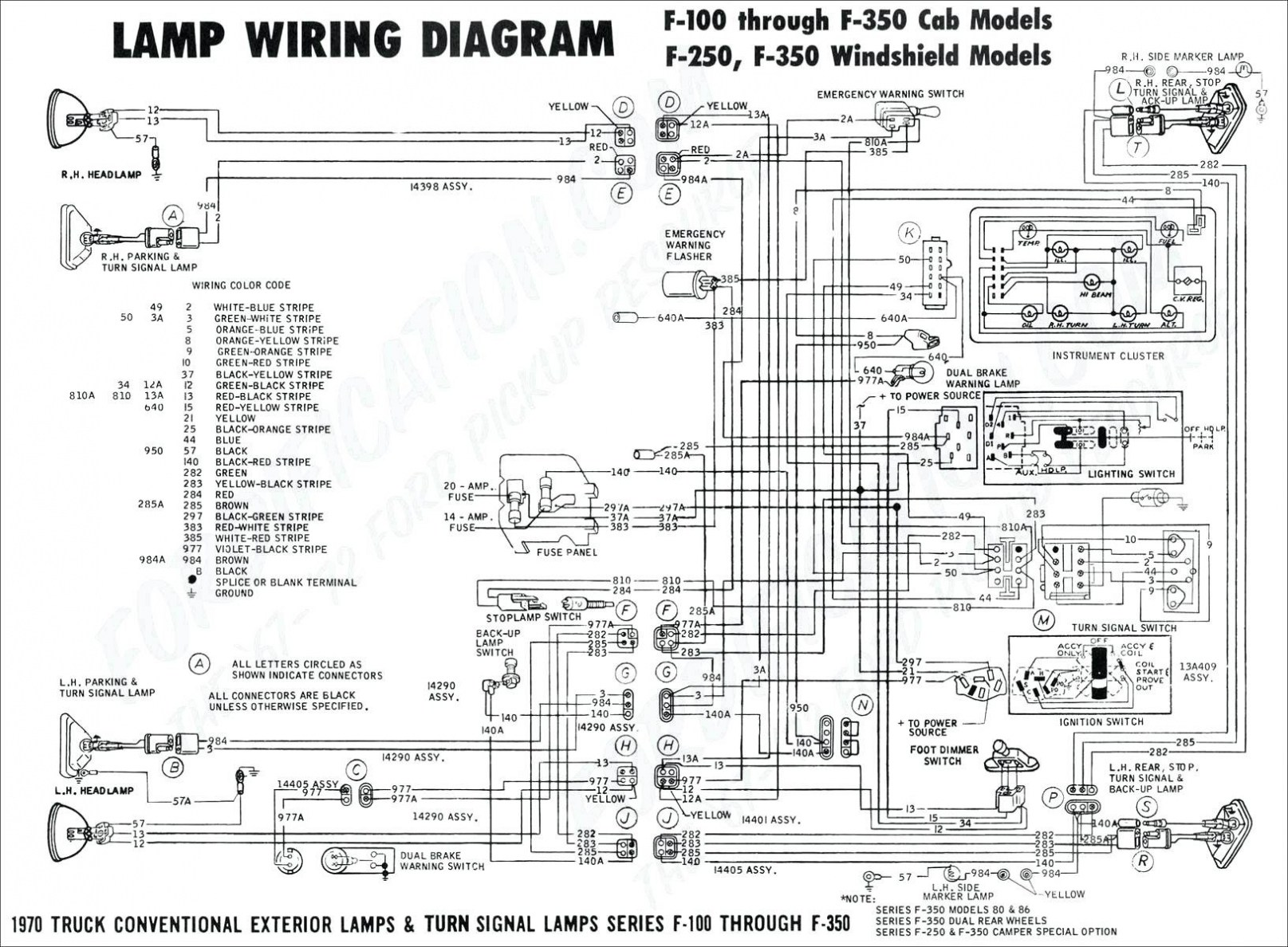 2000 Ford F350 Radio Wiring Diagram