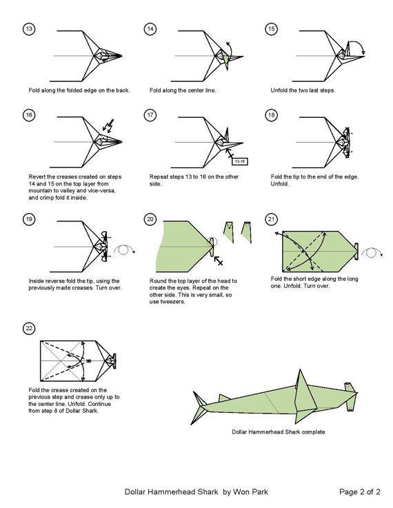 Origami Shark – Easy Origami for Kids | 737x570