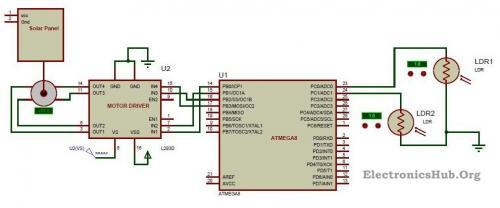 Admirable Sun Tracking Solar Panel Circuit Project Time For Science Wiring Cloud Biosomenaidewilluminateatxorg