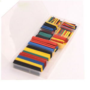 Enjoyable 328Pc Car Electrical Cable Tube Kit Assorted 8 Sizes Heat Shrink Pe Wiring Cloud Unhoicandsaprexeroixtuhyedimohammedshrineorg
